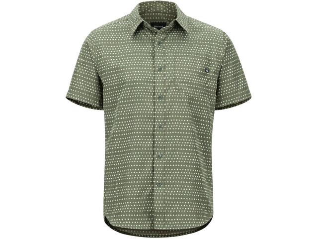 Marmot Lykken SS Shirt Herre crocodile angles